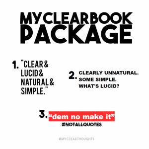 MyClearBook Package
